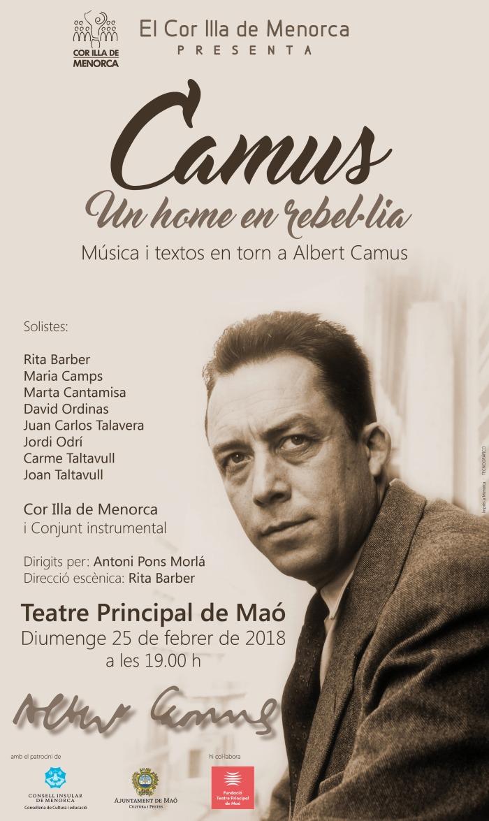 Cartell Un home en rebel.lia Teatre Principal